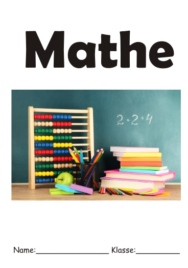 Deckblatt Mathe