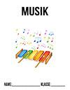 Musik 1. Klasse Deckblatt