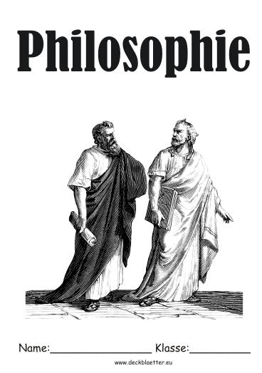 Philosophie Deckblatt | marlpoint