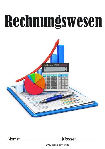 Deckblatt Rechnungswesen