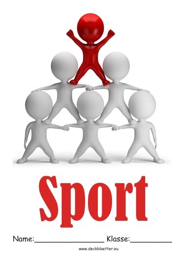 Deckblätter Sport Unterricht   Sport Schulfächer