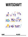 Wirtschaft Teamwork Deckblatt